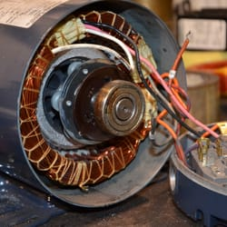 A c d c penn electric motor service electronics repair for Electric motor parts near me