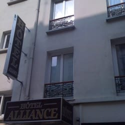 Alliance hotel h tels 52 rue cloys 18e nord for Hotel paris telephone