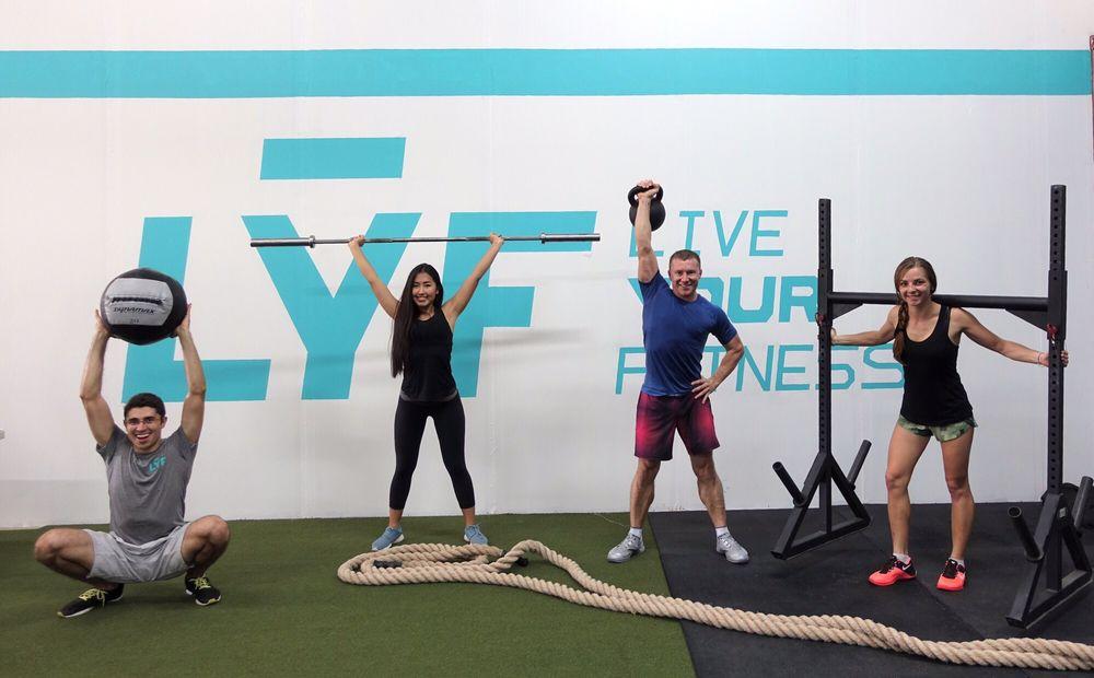 Live Your Fitness: 6432 Pinecastle Blvd, Orlando, FL