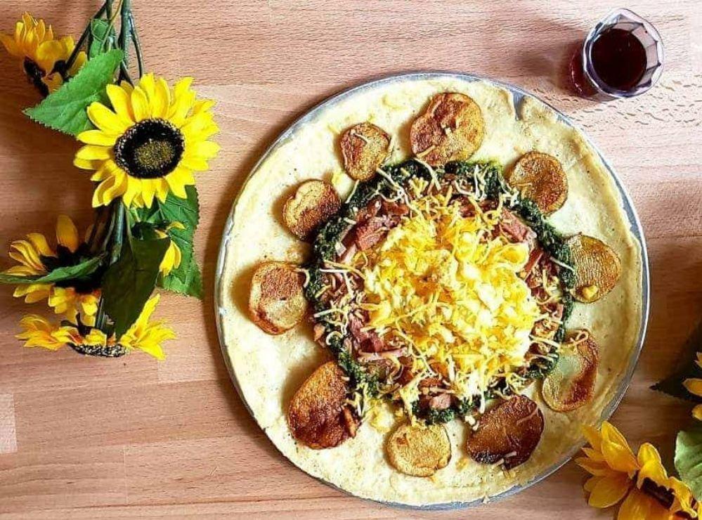 Food from Van Gogh's Eeterie