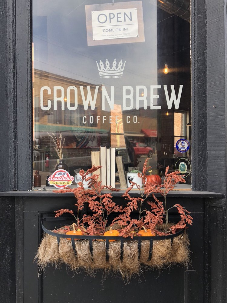 Crown Brew Coffee: 116 N Division St, Carterville, IL