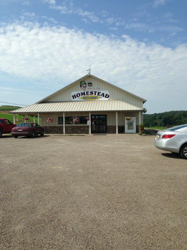 Homested Resturant: 20079 Rt 954, Smicksburg, PA