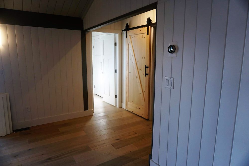 Interior Of A Designer Spec Home On Bowen Island Featuring Trending