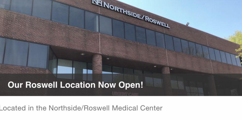 Northside Family Medicine & Urgent care: 11685 Alpharetta Hwy, Roswell, GA