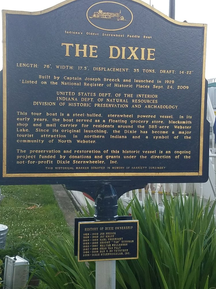 The Dixie Boat: 401 S Dixie Dr, North Webster, IN