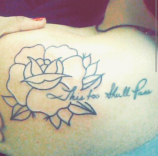 Miguel helped me choose this beautiful rose to add on to for Twisted tattoo chicago