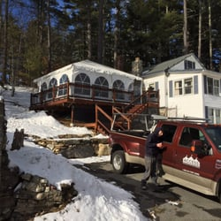 Photo of Access Tent - Windham NH United States. Winter deck installation for & Access Tent - 33 Photos - Party Equipment Rentals - 87 Range Rd ...