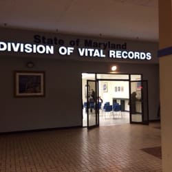 The Division of Vital Records - 14 Reviews - Public Services