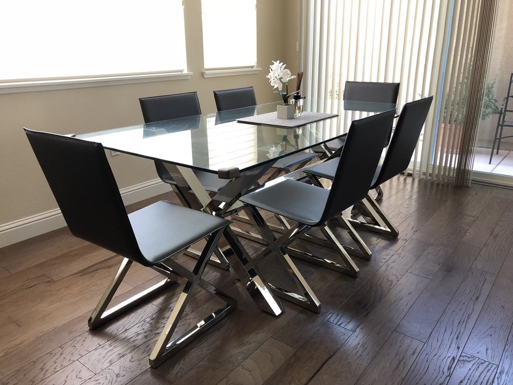 Photo Of Z Gallerie San Jose Ca United States Axis Dining Table