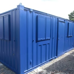 Container Cabins Security Systems Yard 2 Newstet Road