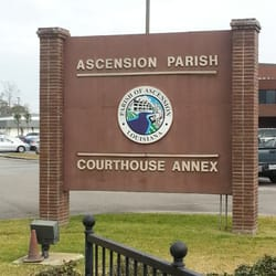 Ascension Parish Courthouse East - Courthouses - 828 S Irma