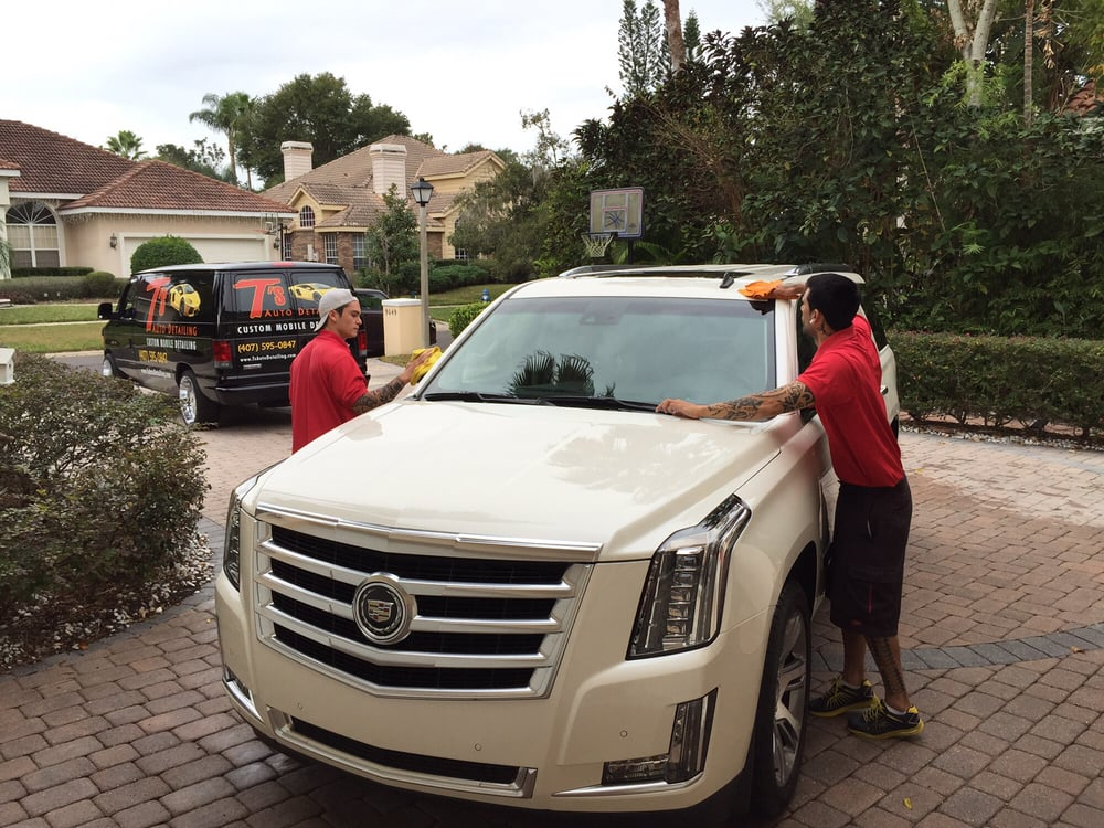 T's Auto Detailing: 7512 Dr Phillips Blvd, Orlando, FL