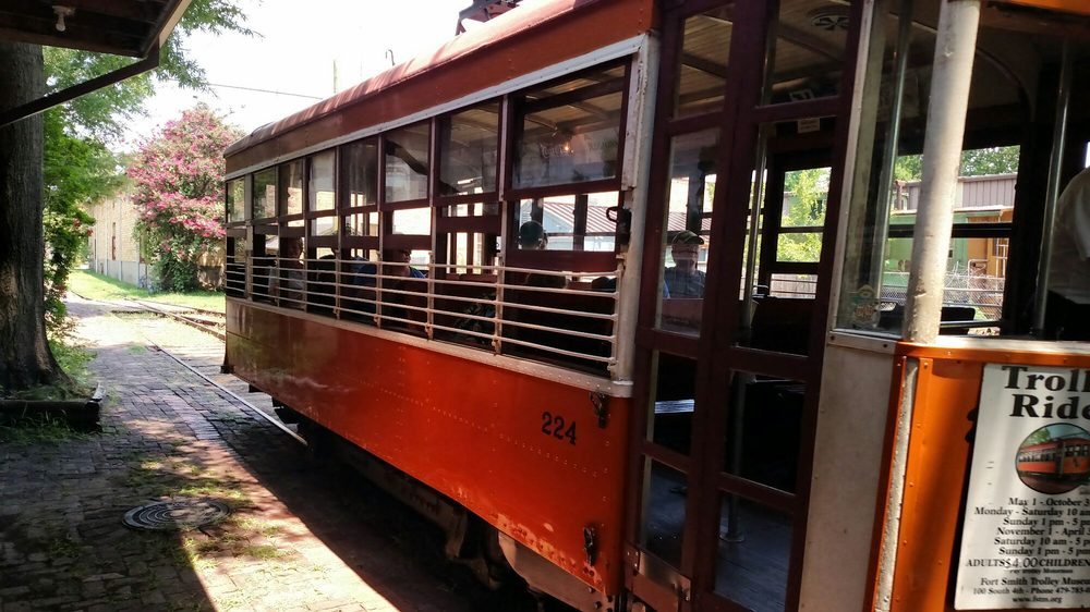 Fort Smith Trolley Museum: 100 S 4th St, Fort Smith, AR