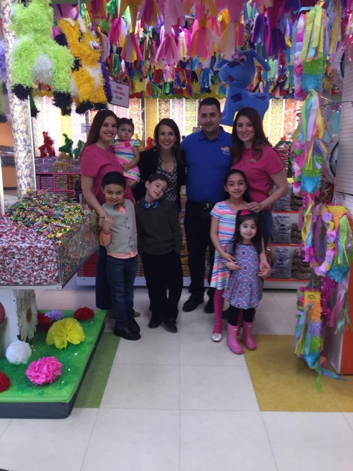 Have your birthday party in a candy store-Ana Belaval from