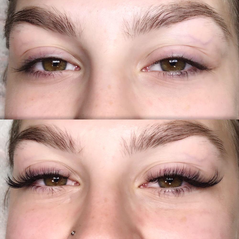 Hybrid Cat Eye Eyelash Extensions Yelp