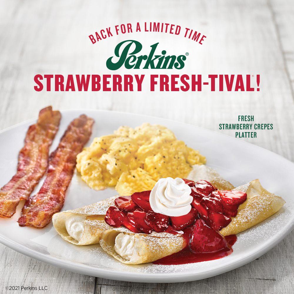 Food from Perkins Restaurant & Bakery