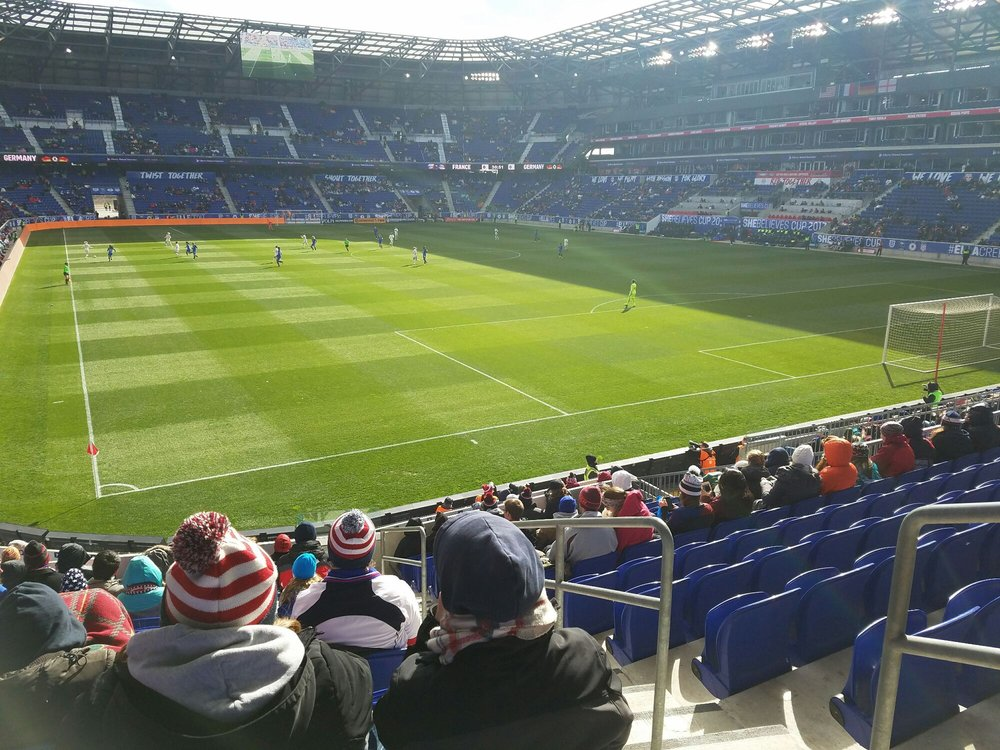 October 16, 2016 against Columbus Crew. Section 133 Row 1. Sitting ...