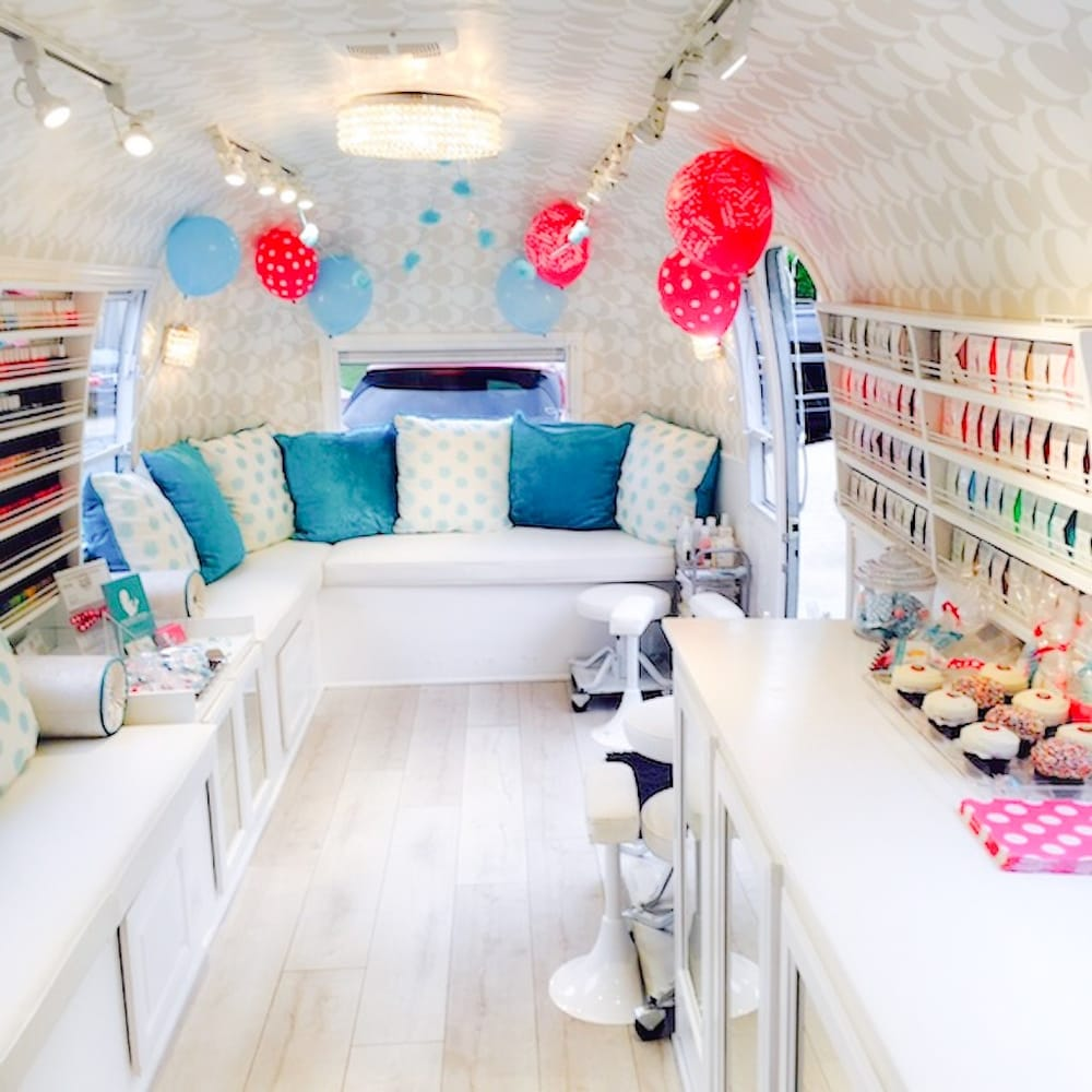 The inside of our truck during a party! - Yelp