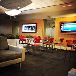 Photo Of Air Canada Business Class Maple Leaf Lounge