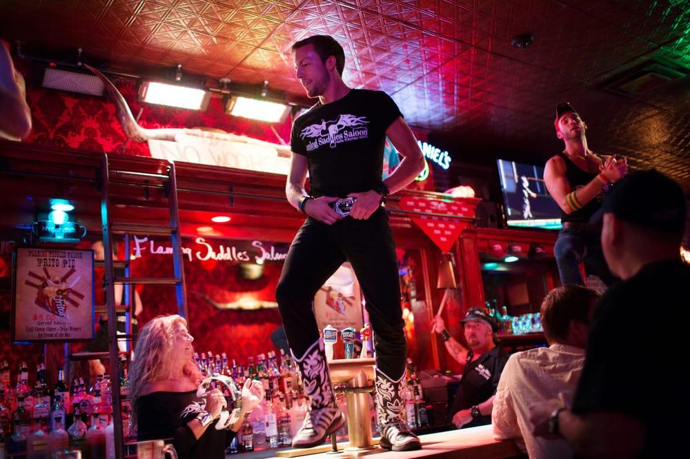 Flaming Saddles Saloon: 793 9th Ave, New York, NY