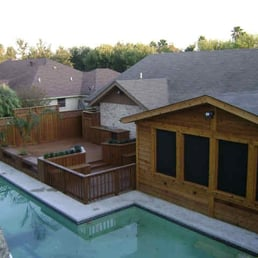 Backyard Escapes backyard escapes - contractors - 27600 kings manor dr, humble, tx