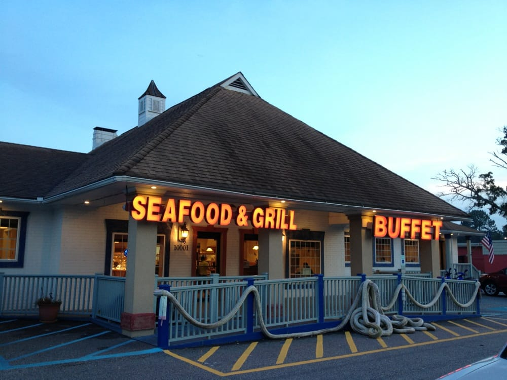 Captain Calabash Sea food Buffet and Hibachi Corner: 10037-10047 Beach Dri SW, Calabash, NC