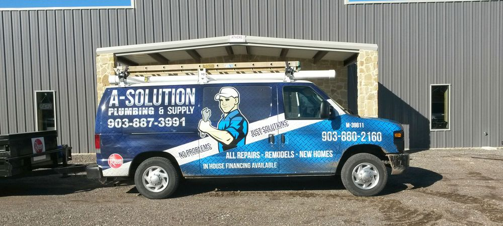 A-Solution Plumbing: 2052 S 3rd St, Mabank, TX