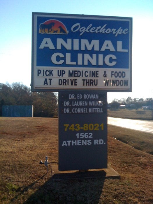 Oglethorpe Animal Clinic: 1562 Athens Rd, Crawford, GA