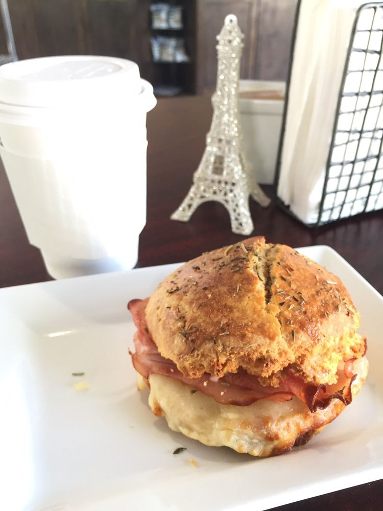 Ham And Of Course Cheese Biscuit Yelp