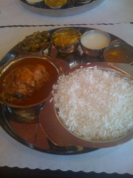 Fish curry yelp for Anjappar chettinad south indian cuisine