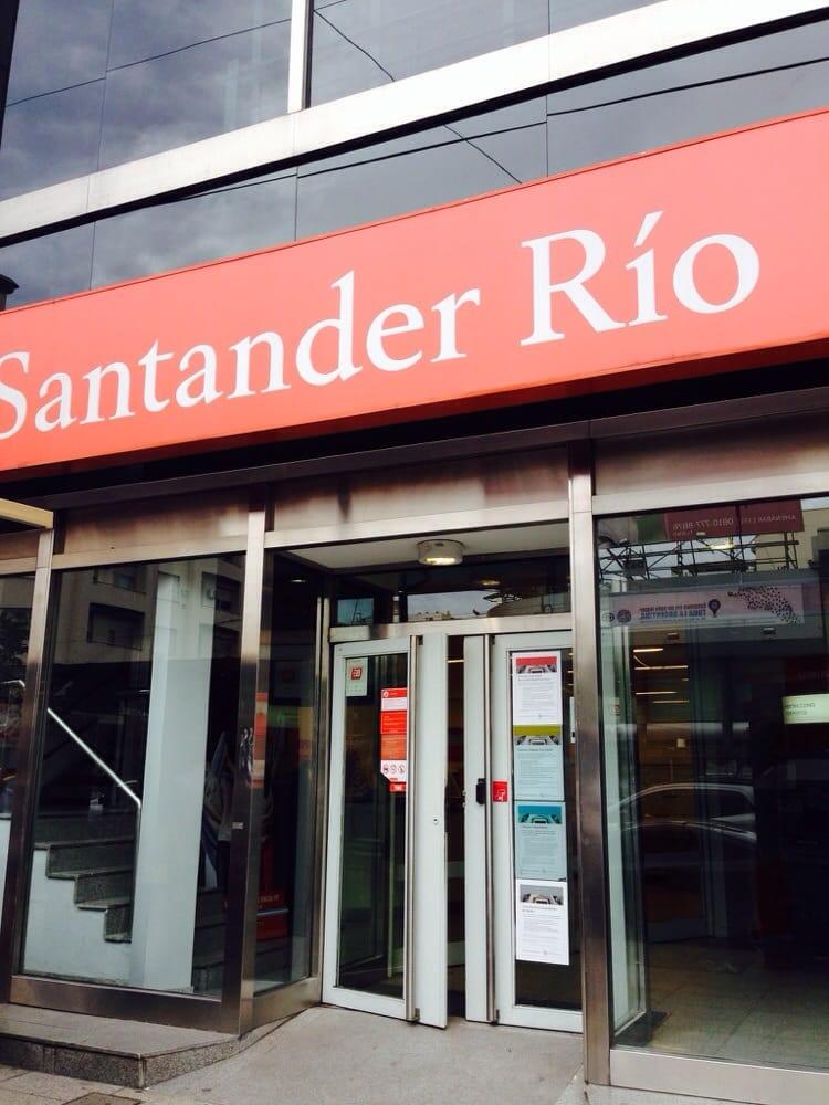 banco santander rio bancos y cajas av cabildo 769