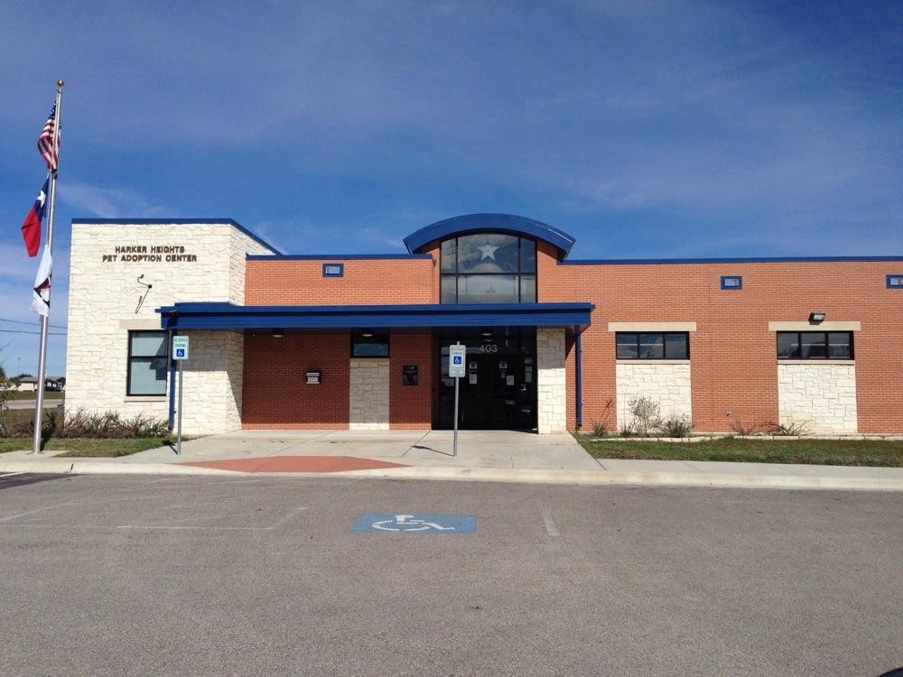 Harker Heights Pet Adoption Center: 403 Indian Trl, Harker Heights, TX