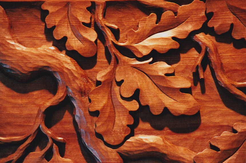 Juniper booth studio art wood carving galleries