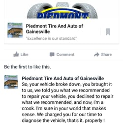 Piedmont Tire Auto 55 Reviews Tires 7400 Hillwood Dr