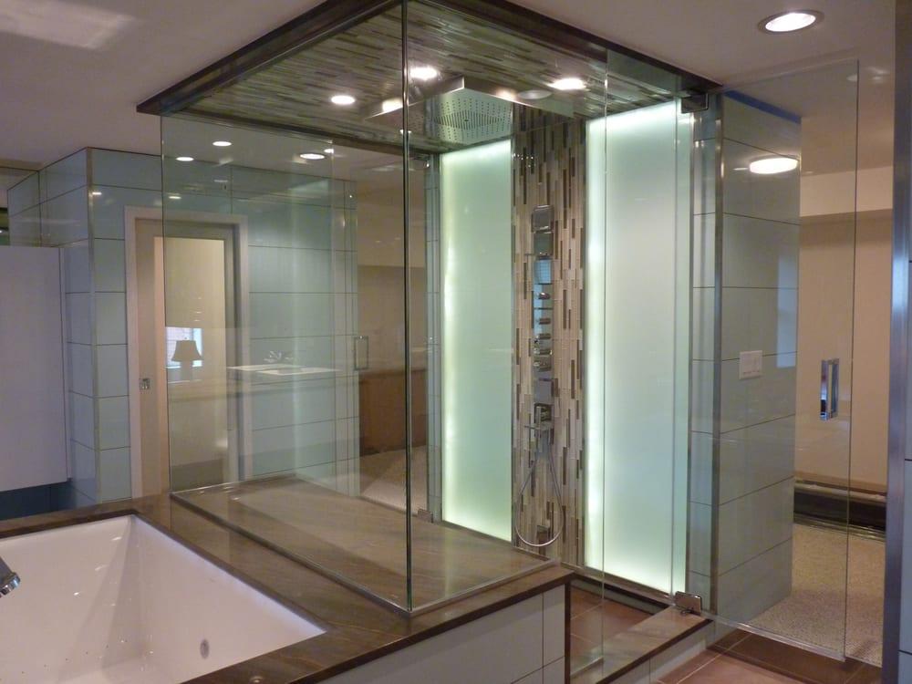 Creative Mirror Amp Shower 41 Photos Amp 26 Reviews Glass
