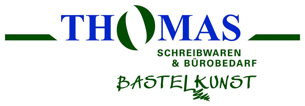 Bürobedarf logo  Thomas, Schreibwaren und Bürobedarf, Bastelkunst - Cards ...