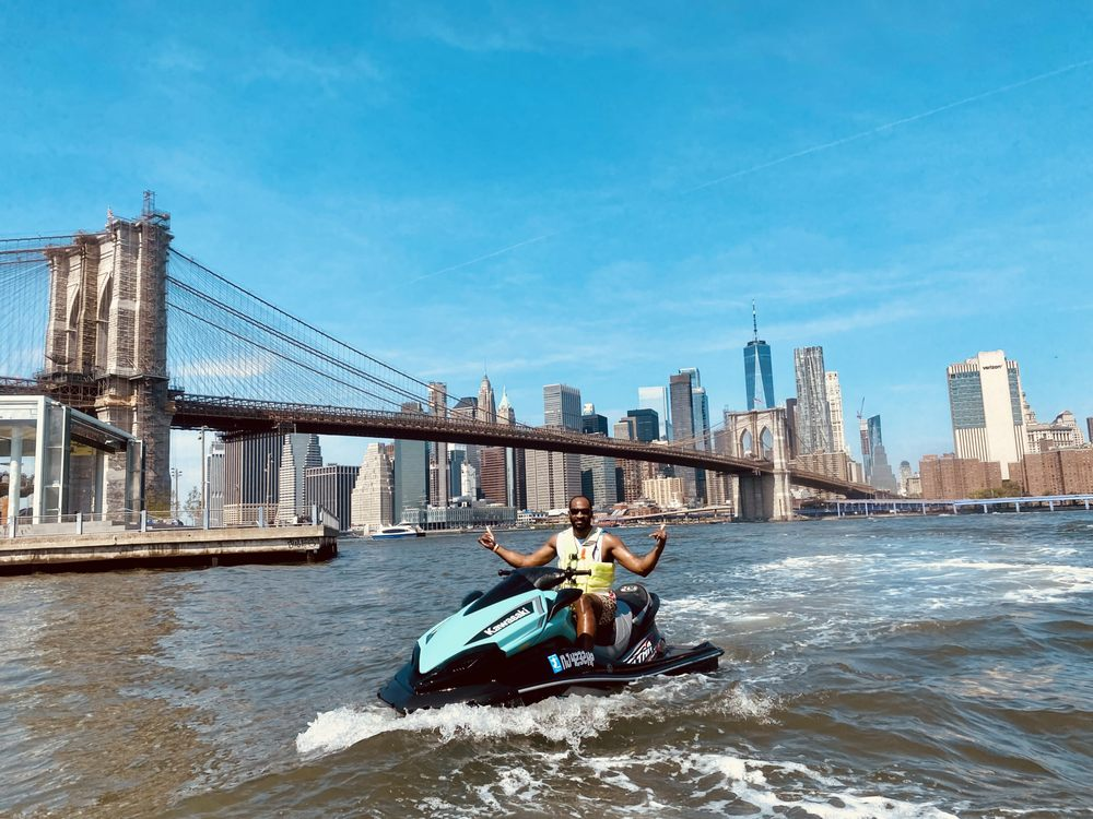 Social Spots from New York Harbor Jetski