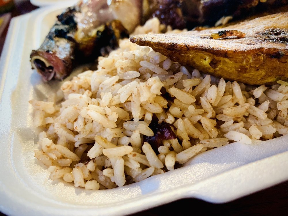 Cool Runnings Jamaican Grill: 8270 W Bellfort St, Houston, TX