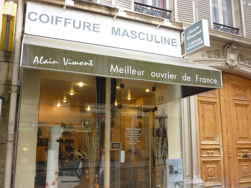 Alain vimont coiffure coiffeurs salons de coiffure for Salon de coiffure afro champs elysees