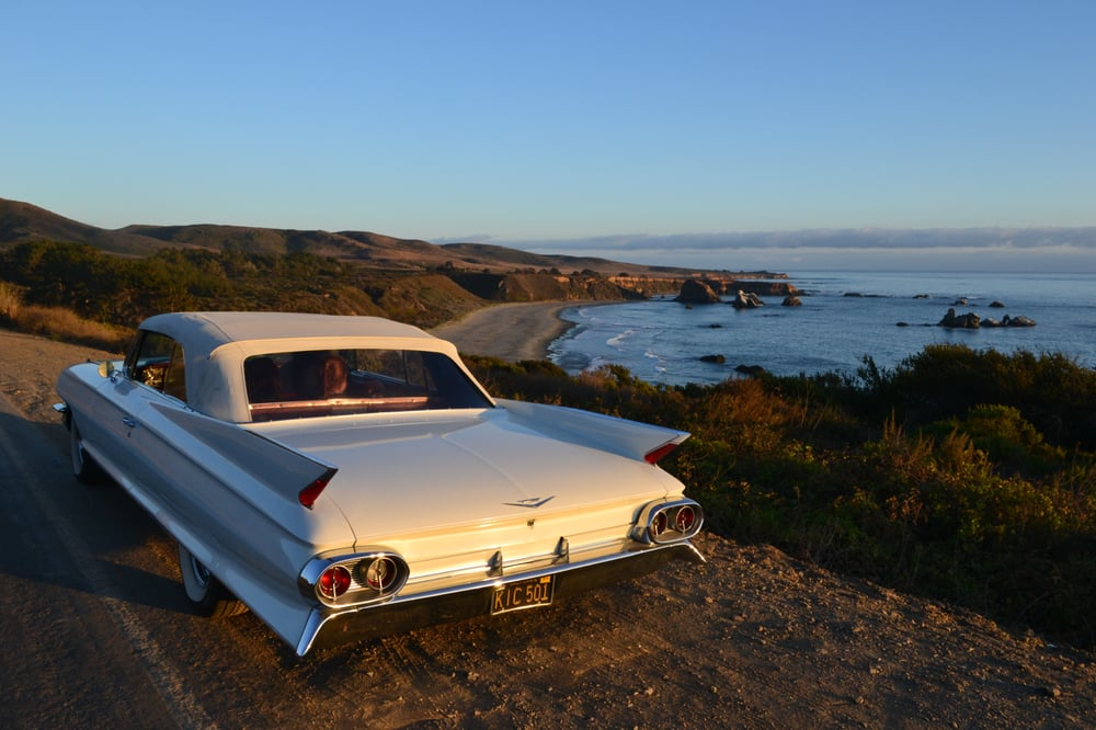 Rent a Classic Cadillac California. Drive the California Coast in a ...