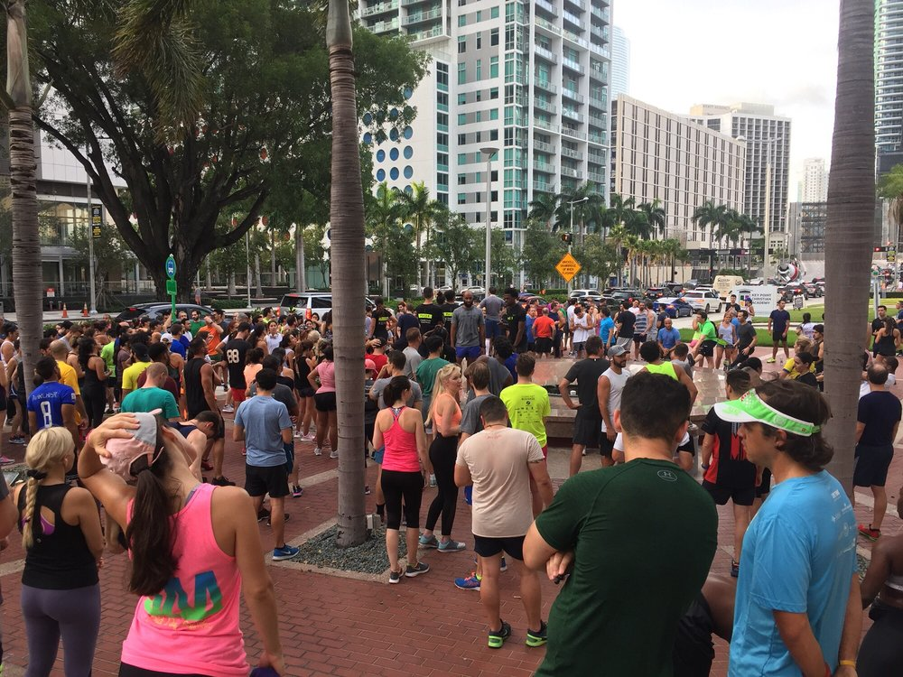 Brickell Run Club: 1300 Brickell Ave, Miami, FL