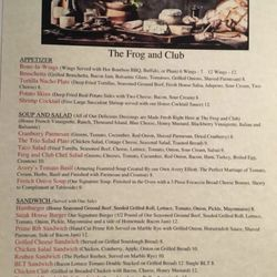 The Frog And Club Restaurant American Traditional 451 Danville