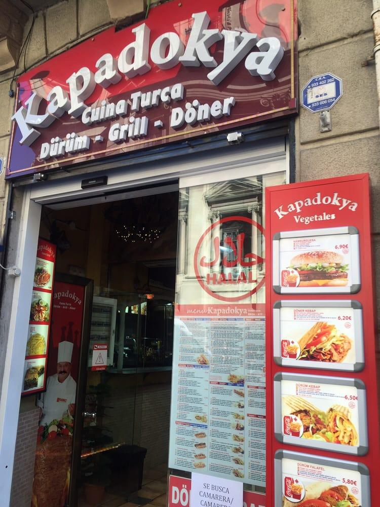 Kapadokya takeaway fast food carrer de la fusteria - Fusteria barcelona ...