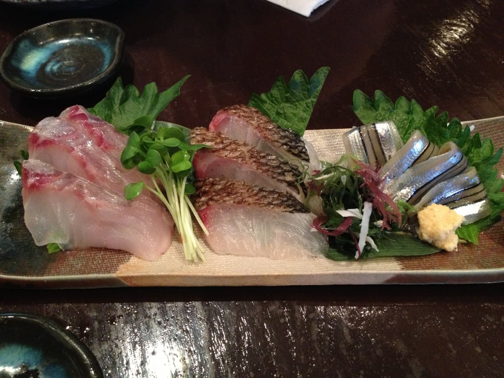 Kurodai (Black Snapper), Suzuki (Sea Bass) & Kibinago ...