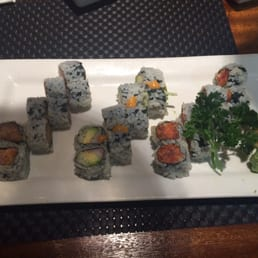 Kumo Sushi, Hibachi, and Lounge - New City, NY, United States. Sushi!