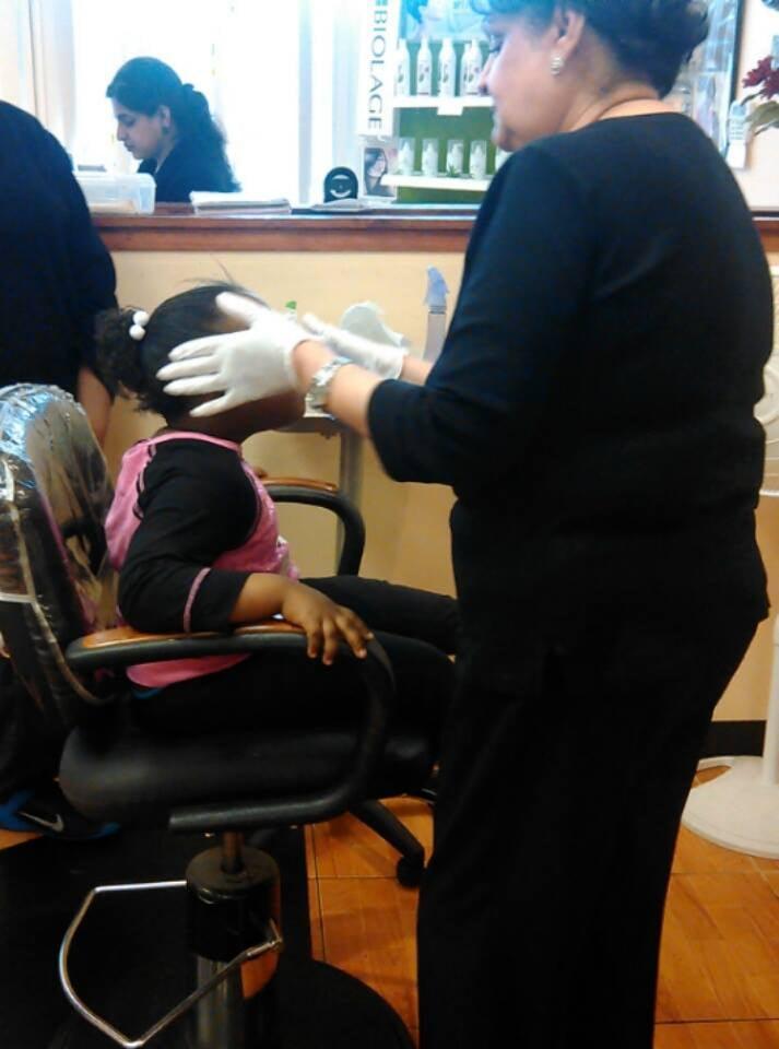 Aisha 39 s salon spa offers quick painless ear piercing for 22 salon houston