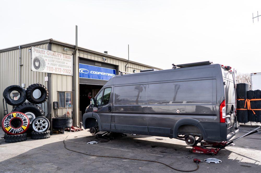 Perez Quality Tires: 1280 N Main St, Bishop, CA