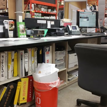 photo of the home depot rochester ny united states empty help desk