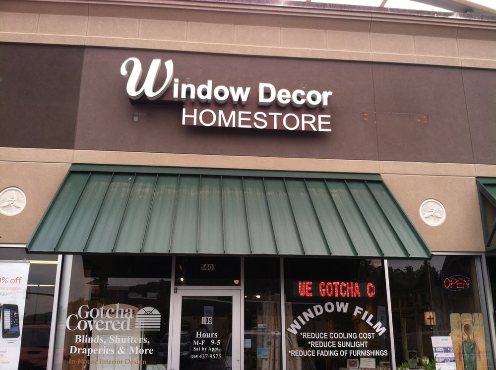 Window Decor Home Store Shades Amp Blinds 1401 Doug Baker Blvd Birmingham Al