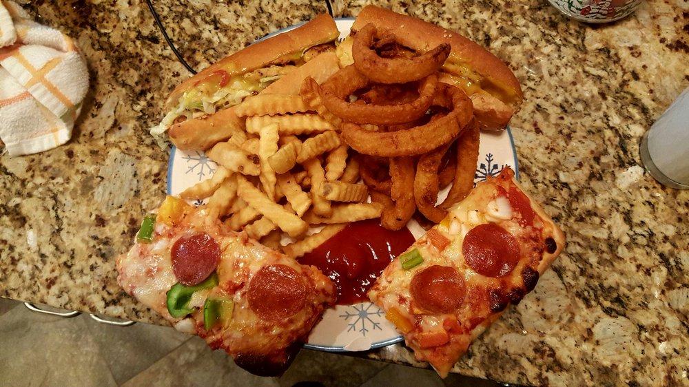 Food from Nickies Fabulous Hoagies